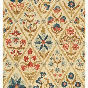 2010120-509 SUSANI TRELLIS Indigo Wine Lee Jofa Fabric