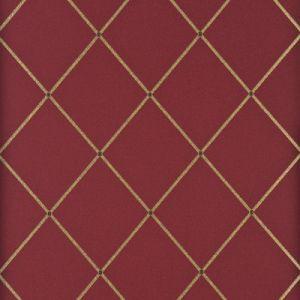 BW45032-6 TRELLIS Red Gold GP & J Baker Wallpaper