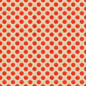 34070-1216 POSIE DOT Hot Coral Kravet Fabric