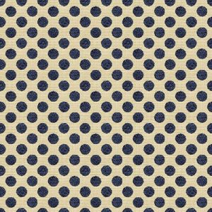 34070-516 POSIE DOT Navy Kravet Fabric