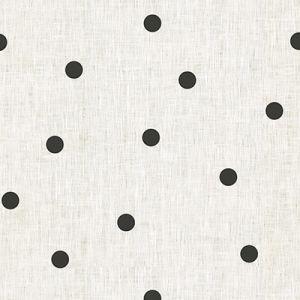 4095-81 SCATTER DOT Black Kravet Fabric