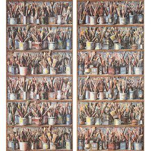 AMW10025-524 PAINTBOX Multi Kravet Wallpaper