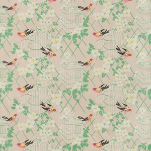 BIRDSONG-17 Blush Kravet Fabric