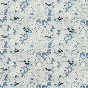 BIRDSONG-5 Cornflower Kravet Fabric