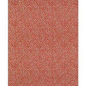 BR-79766-634 FAN FAIR COTTON PRINT Coral Driftwood Brunschwig & Fils Fabric