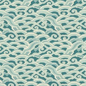 DECOWAVES-1635 Peacock Kravet Fabric