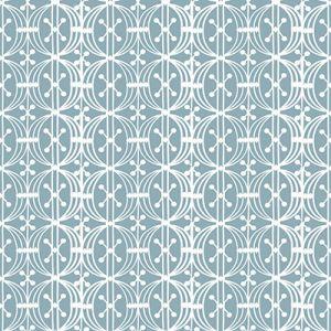 GDW5438-003 CARRUSEL Azul Plomo Gaston Y Daniela Wallpaper