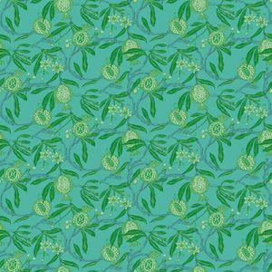 GDW5439-005 GRANADAS Verde Azul Gaston Y Daniela Wallpaper