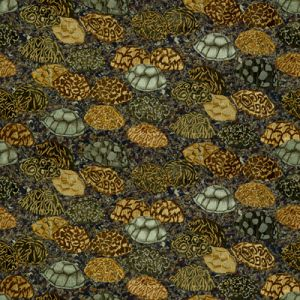 GWF-3400-611 STAR OF INDIA Neutrals Groundworks Fabric