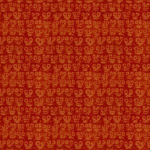 GWF-3403-12 GUARDIANS Orange Groundworks Fabric