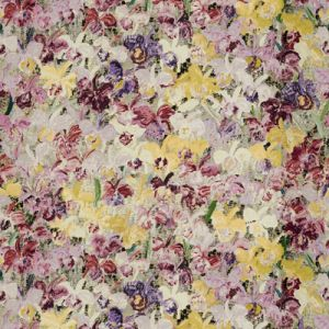 GWF-3406-104 CATELAYAS Purple Berry Groundworks Fabric