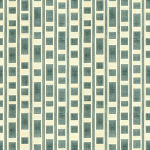 GWF-3514-13 RESOLUTION Aqua Groundworks Fabric