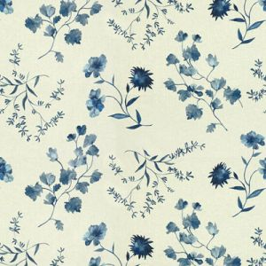GWF-3515-515 FLOURISH Blues Groundworks Fabric