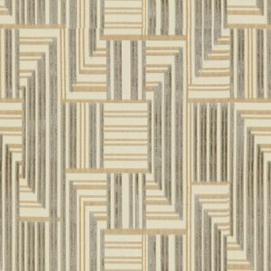 GWF-3710-1116 CUBOID VELVET Grey Beige Groundworks Fabric