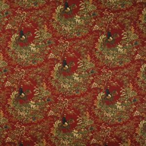 LCF24586F AINSWORTH Cantebury Red Ralph Lauren Fabric