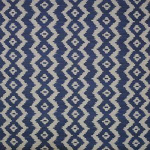 LCF64805F COLONSAY IKAT Indigo Ralph Lauren Fabric