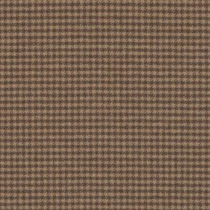 LCF65794F ELLWOOD HOUNDSTOOTH Russet Ralph Lauren Fabric