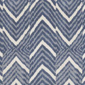 LCF65972F RIMBA IKAT Indigo Ralph Lauren Fabric