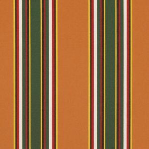 LCF66374F NORTHPORT STRIPE Tangerine Ralph Lauren Fabric