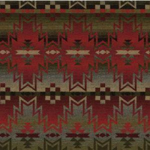 LFY50002F TRIBAL FAIR BLANKET Mountain Ralph Lauren Fabric