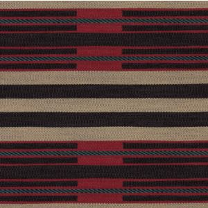 LFY64160F DINETAH STRIPE Raveled Red Ralph Lauren Fabric