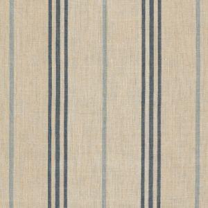 LFY65571F MARITIME LINEN TICKI Blue Ralph Lauren Fabric
