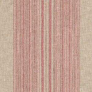LFY65664F ANTICA STRIPE Vermillion Ralph Lauren Fabric
