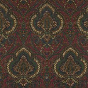 LWP60715W CASTLEHEAD PAISLEY Calvary Red Ralph Lauren Wallpaper