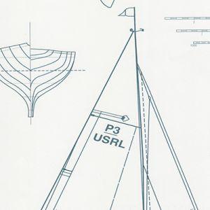 LWP62221W COLLECTION CHESAPEAK Navy On White Ralph Lauren Wallpaper