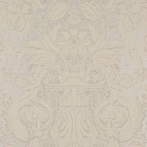 LWP64368W CHELSEA DAMASK Platinum Ralph Lauren Wallpaper
