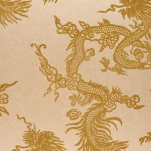 LWP65421W JINPING DRAGON Champagne Ralph Lauren Wallpaper