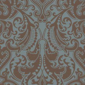 LWP65713W GWYNNE DAMASK Peacock Ralph Lauren Wallpaper