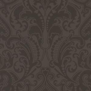 LWP65714W GWYNNE DAMASK Jet Ralph Lauren Wallpaper
