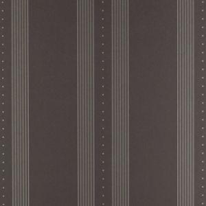 LWP66191W TUXEDO CLUB STRIPE Black Ralph Lauren Wallpaper