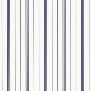 LWP66198W TREVOR STRIPE Navy Ralph Lauren Wallpaper