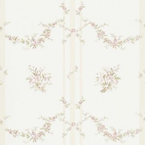 LWP66229W TUILLERIES STRIPE Pale Pink Ralph Lauren Wallpaper