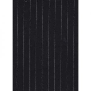 LWP66231W WINDSOR CHALK STRIPE Black Ralph Lauren Wallpaper