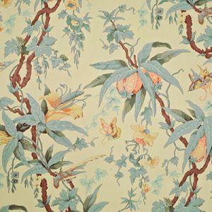 LWP68562W MARY DAY BOTANICAL Tea Ralph Lauren Wallpaper