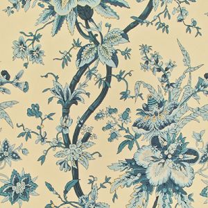 LWP68581W YARMOUTH FLORAL Slate Ralph Lauren Wallpaper