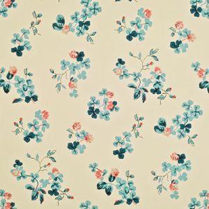 LWP68585W TREFOIL FLORAL Clover Ralph Lauren Wallpaper