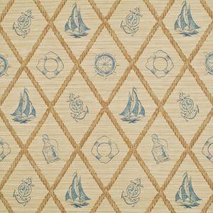 LWP68611W S.S. HESSIE Slate Ralph Lauren Wallpaper