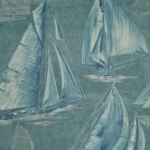 LWP68615W BOON ISLAND TOILE Atlantic Ralph Lauren Wallpaper