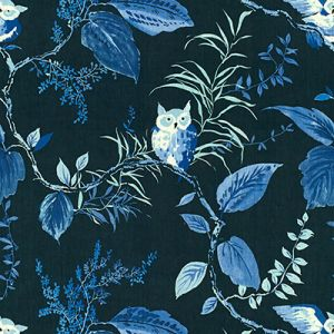 OWLISH-50 Navy Kravet Fabric