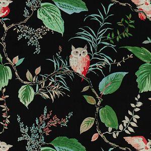 OWLISH-819 Black Kravet Fabric