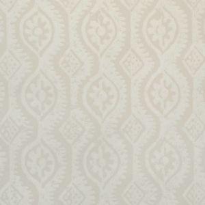 PBFC-3509-101 SMALL DAMASK White Lee Jofa Wallpaper