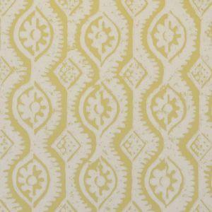 PBFC-3509-14 SMALL DAMASK Yellow Lee Jofa Wallpaper