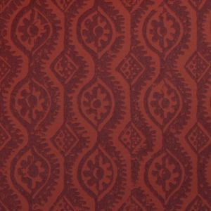 PBFC-3509-19 SMALL DAMASK Red Lee Jofa Wallpaper