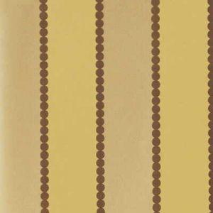BW45003-3 VALENTINO STRIPE FLOCK Bronze GP & J Baker Wallpaper