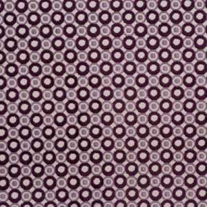 Groundworks Pearl Taupe Aubergine Fabric