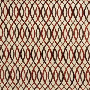 Groundworks Infinity Beige Rust Fabric